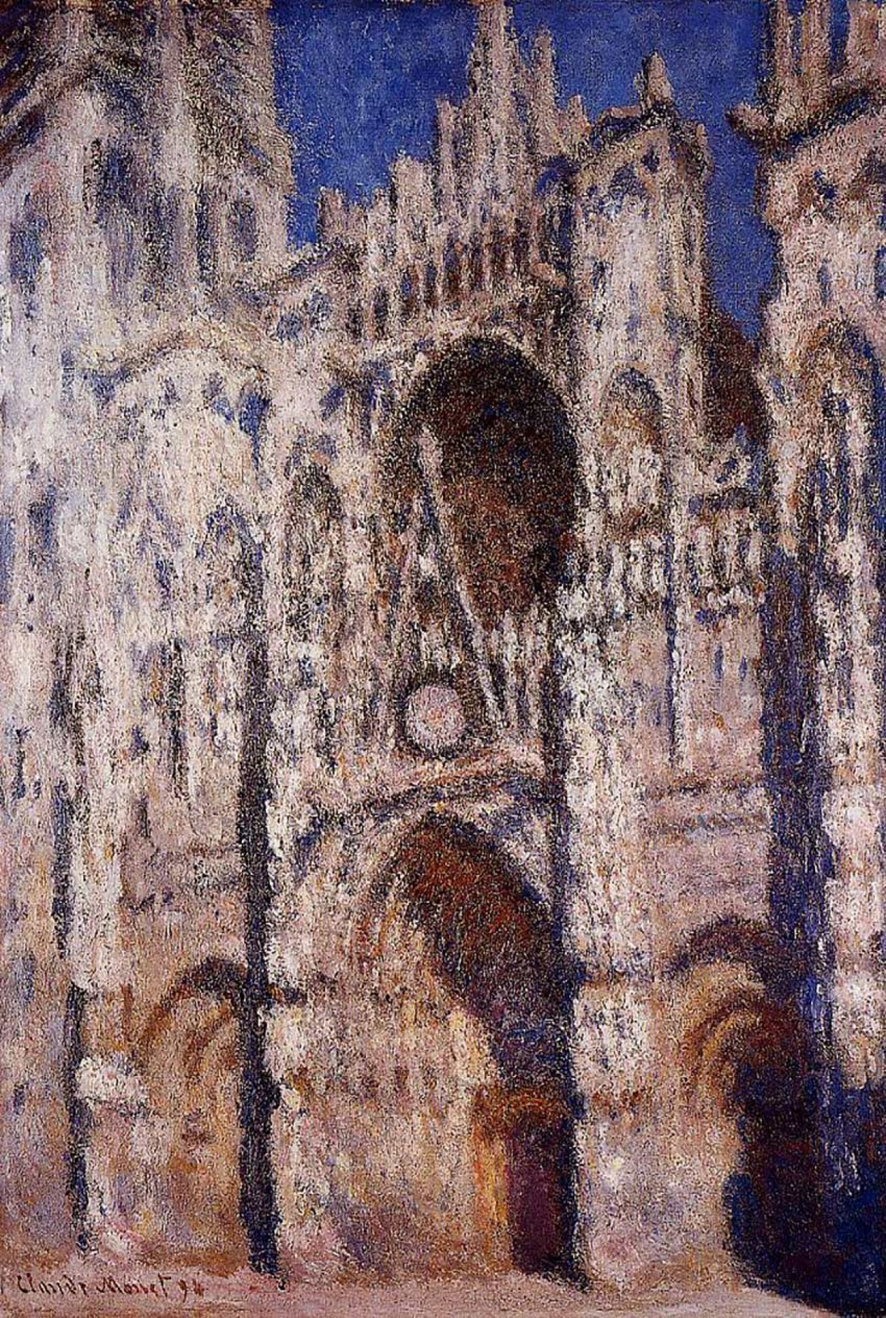 Monet, Rouen Cathedral 01