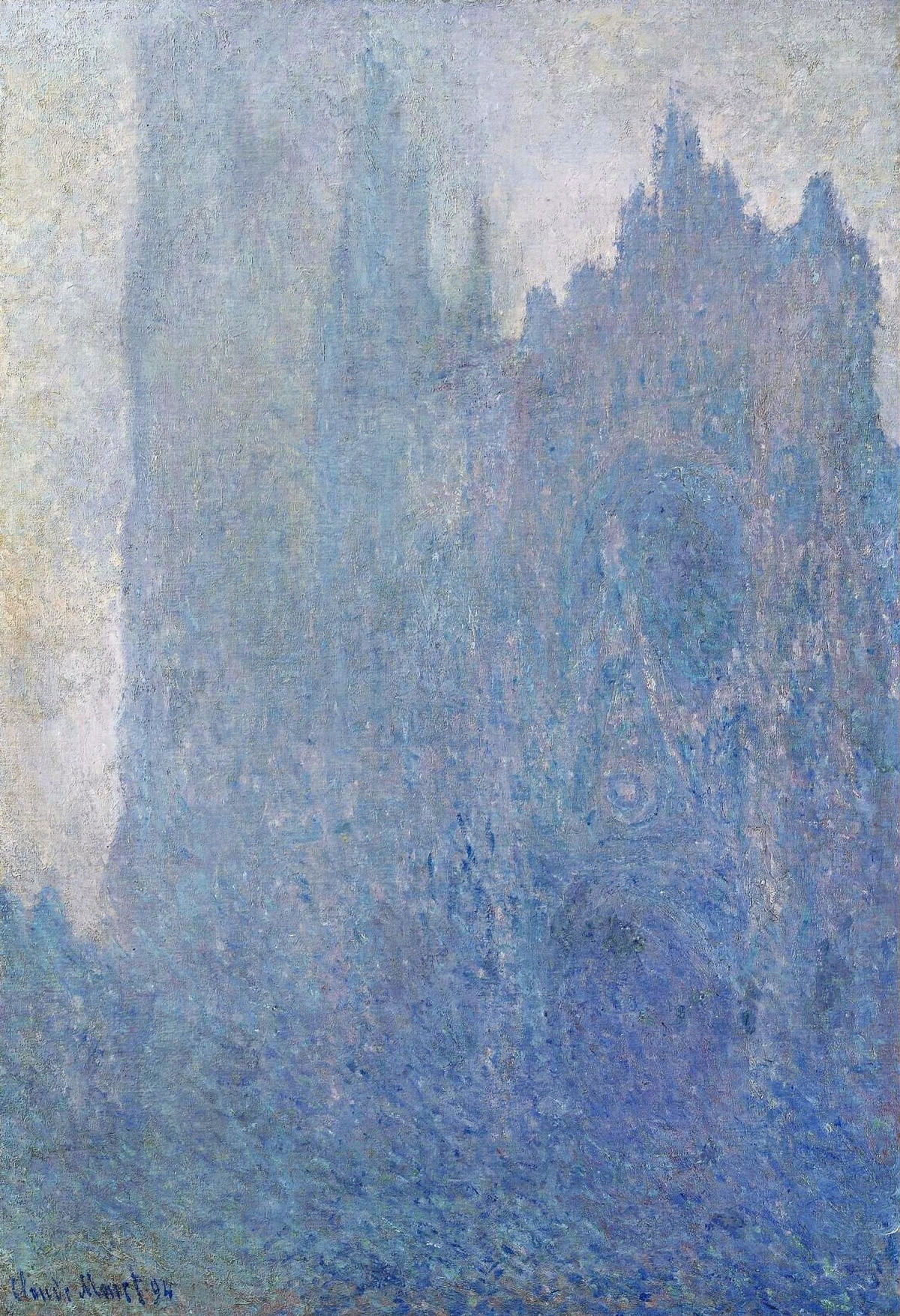 Monet, Rouen Cathedral in the fog
